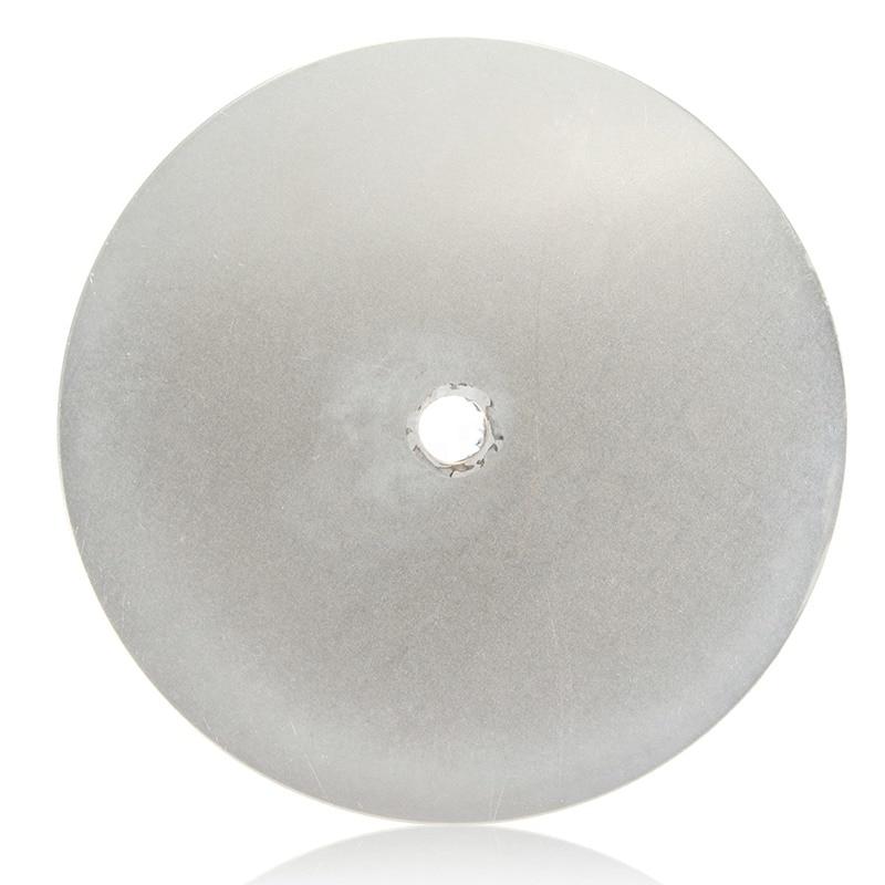 6 Inch Grit 3000 Diamond Coated Flat Lap Wheel Jewelry Polishing Grinding Disc