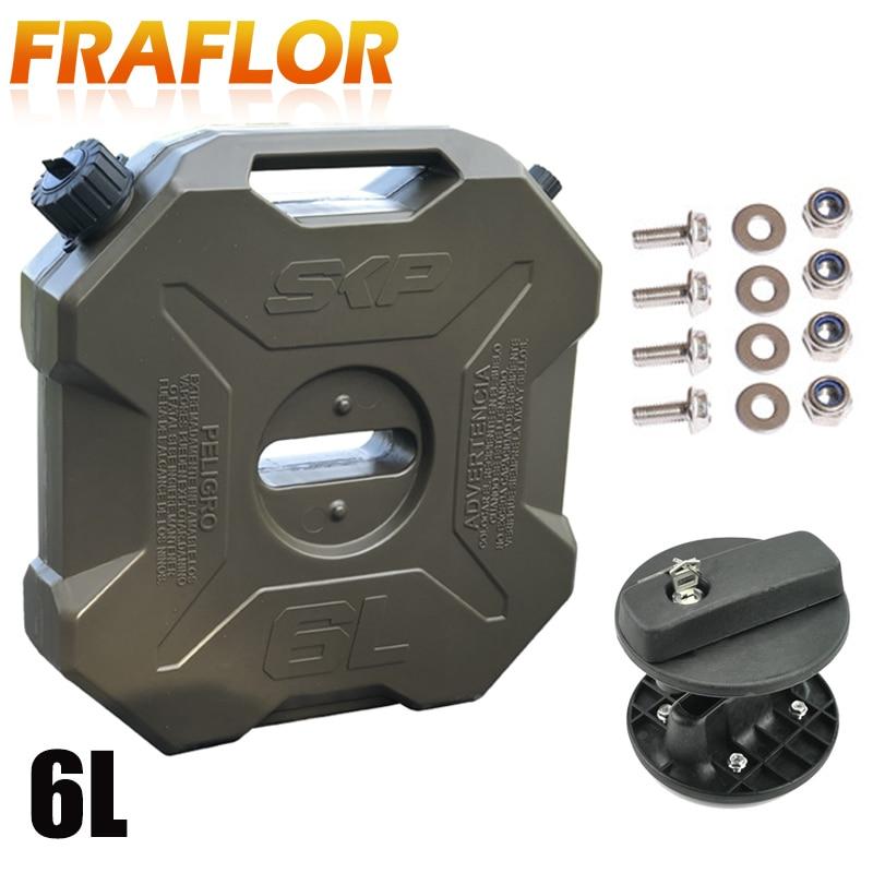 5L Fuel Tank Mount Petrol Can Jerry C 1 PCS Black Bracket Lock Fastener for 3L