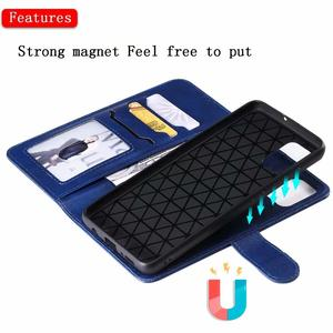 Image 3 - For Samsung A51 Case 2 in 1 Detachable Wallet Case Magnetic Cover Fits Car Mount Leather Flip Case for Samsung Galaxy A51 A71