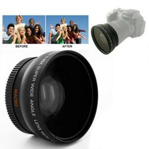 52 мм 0.45x Широкоугольный объектив макро объектив для камеры NIKON D50 D60 D70S D3000 D3100 D3200 D300S D70 D90 широкоугольный объектив аксессуары