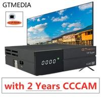 Europen 2 anos freesat receptor satélite h.265/hevc caixa de tv gtmedia s2 v9 super suporte dolby cccam youtube iptv conjunto caixas superiores|Receptor de TV via satélite| |  -