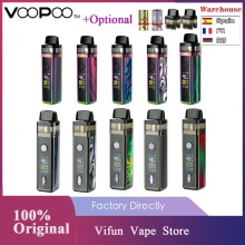 Oryginalny VOOPOO VINCI Mod Pod zestaw do e-papierosa z akumulatorem 1500mah i 5 5ml Pod i 0 96 calowy kolorowy ekran TFT zestaw do e-papierosa Vs Vinci X Drag X tanie tanio Bez Baterii VOOPOO VINCI Mod Pod VW Kit GENE 104 0 x 25 3 x 25 3mm Built-in 1500mAh 5-40W 0 1-3 0ohm 3 2-4 2V Visible Pod-5 5ml 2ml(TPD)