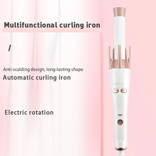 Curling Iron Heating-Hair Wavy-Bundles Ceramic Quick Portable And Wet Electric Tourmaline