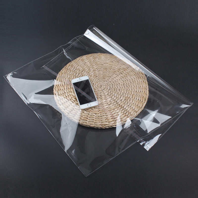 ขายส่ง 100/50pcs Self-adhesive ขนาดเล็ก CELLO ปิดผนึกด้วยตนเองแพคเกจหนาหนากระดาษแก้วพลาสติก OPP ถุงโพลี