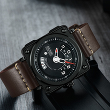 MEGIR 2019 Men Watch Fashion Quartz Watches Clock Men Leather Strap Relogio Masculino Military Watch for Male Reloj Hombre 2040 цена