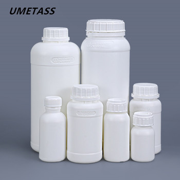 UMETASS Empty plastic Fluorinated bottle with Tamper Evident Cap leakproof container 50ml/100ml/200ml/250ml/500ml/1000ml image