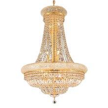 Phube Beleuchtung Französisch Reich Gold Kristall Kronleuchter Chrom Kronleuchter Beleuchtung Moderne Kronleuchter Licht + Freies verschiffen!