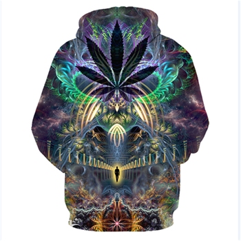 Europe and America Men/Women Hoodies With Hat Hoody Print Color Blocks Autumn Winter 3D Sweatshirts Hooded Hood Tops Wholesale 68