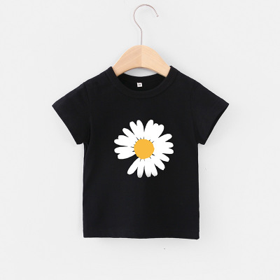 VIDMID Children Summer Clothing Girls Short Sleeve Tees Tops Clothes Kids Cartoon Print T-shirt Baby girl cotton T-shirt 4018 04 3