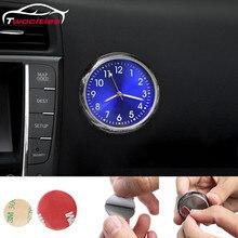 Автомобильные часы, светящиеся мини-автомобили, внутренние цифровые часы, механика, кварцевые часы, аксессуары для автомобильного стайлинга, подарки