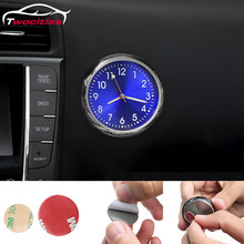 Car Clock Luminous Mini Automobiles Internal Stick-On Digita