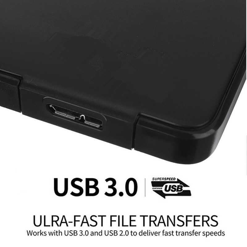 Внешний жесткий диск USB3.0 HDD HD жесткий диск 1 ТБ/2 ТБ мобильный жесткий диск HDD устройства для хранения для mac компьютерный стол ноутбук