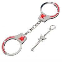 Нержавеющая сталь наручники лодыжки наручники с цепочкой БДСМ Bondge сдержанные Запираемые оковы Фетиш рабство секс-игрушки для пар