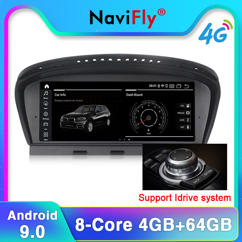 Car Dvd Touch-Screen Pure-Android9.0 5-Series E60 CCC E61 BMW Navi-Player 4G for 4g-Ram