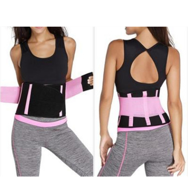 Women Body Waist Belt Shapers Unisex Cincher Trimmer Tummy Slimming Belt Latex Waist Trainer Woman Postpartum Corset Shaper 2