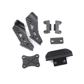 цена на Wltoys 144001 RC Car Anti-Collision parts Tail Wing Firmware Fitting for WLtoys 144001 1:14 Remote Control Vehicle Tail Firmware