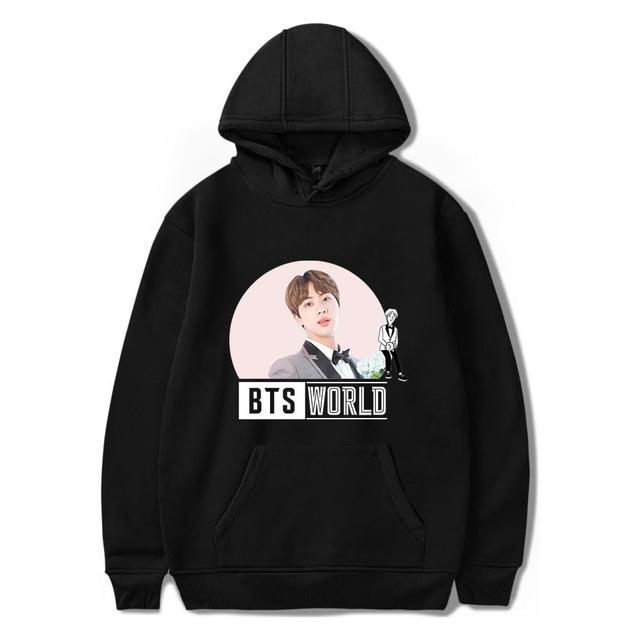 BTS WORLD HOODIE (24 VARIAN)