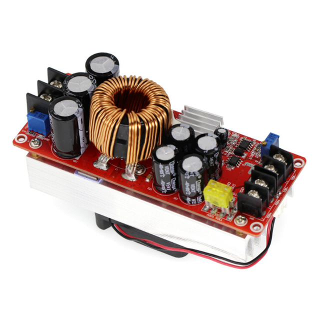 1500W 30A DC 10V 60V to 12V 90V DC DC Step Up Power Supply Adjustable Module|Voltage Regulators/Stabilizers|   -