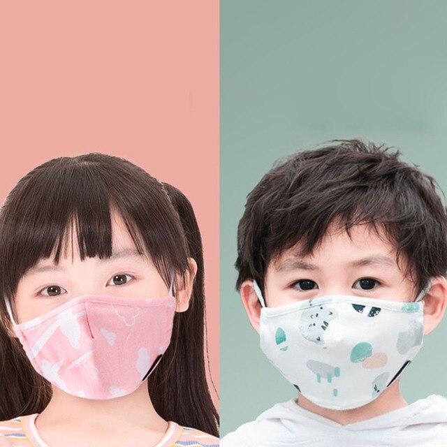 PM2.5 Boy Girl Cotton Kid Smoke Mask Children's Mouth Mask Face Mask Pollution Mask Filter Mask