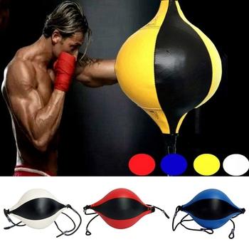Piłki do wykrawania prędkość piłki boks cios ćwiczenia walka piłka trening Fitness dorośli nadmuchiwane piłki tanie i dobre opinie Aolikes