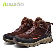 Hiking-Shoes Walking Original Training Pro-Mountain Outdoor Casual Warm Winter Footwear