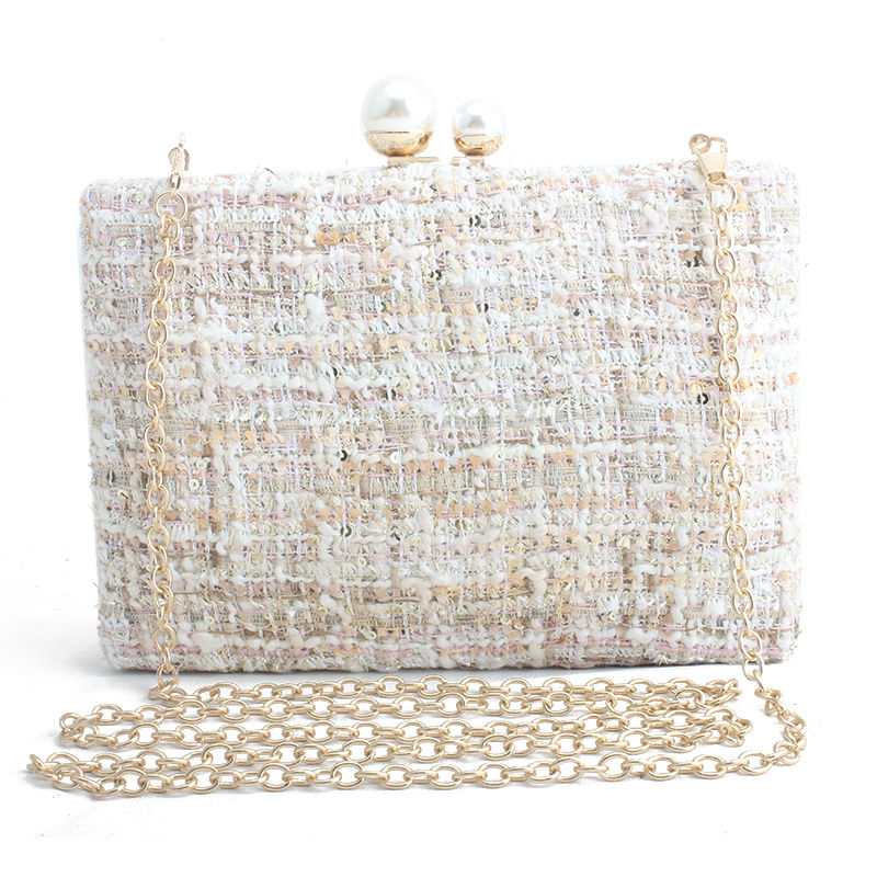 Bolsa Feminina Bags For Women 2019 Luxury Handbags Women Bags Designer Purse Shoulder Bag Knitting Sac A Main Femme Black Pink