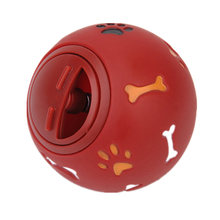 Dog-Toy Dispenser Rubber-Ball Leakage Food-Play-Ball Interactive Pet Chew Dental-Teething