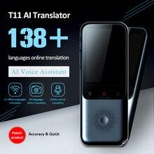 Vários países línguas tradutor de voz inteligente portátil multi idioma fala interativa offline tradutor negócios