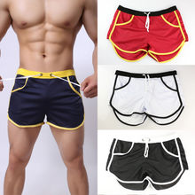 Hot sale Mens Summer Four Colors Causal Sports Gym Shorts Running Breathable Jogging Trunks Beach Short Pockets Man Style