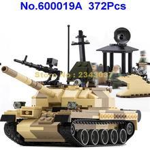 600019a 372 шт военный автомобиль Танк обычный t-62 строительные блоки