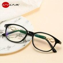 UVLAIK, анти-синий светильник, очки для чтения, для мужчин и женщин, полуоправа, дальнозоркость, диоптрия, прозрачные очки+ 1,0, 1,5, 2,0, 2,5, 3,0