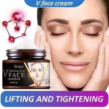 50g Face Slimming Cream V-shape Face Line Lift Firming Enzyme Thin Cream Fat Burning Moisturizing Hydrating Natural Thins Face