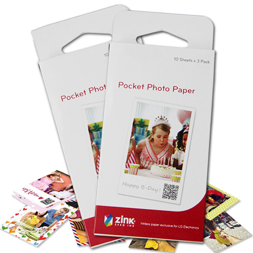 Photo-Paper 3inch Android Bluetooth Portable For Zink PD251 Pd261/Pd239/211/..