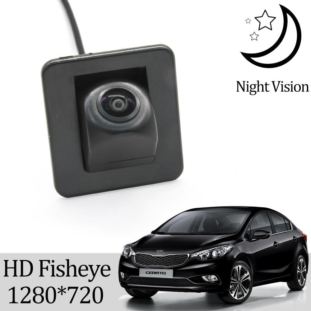 Камера заднего вида Owtosin HD 720P «рыбий глаз» для Kia cerato/Kia K3 2013 2014 2015 2016 2017 2018, седан, монитор парковки заднего хода
