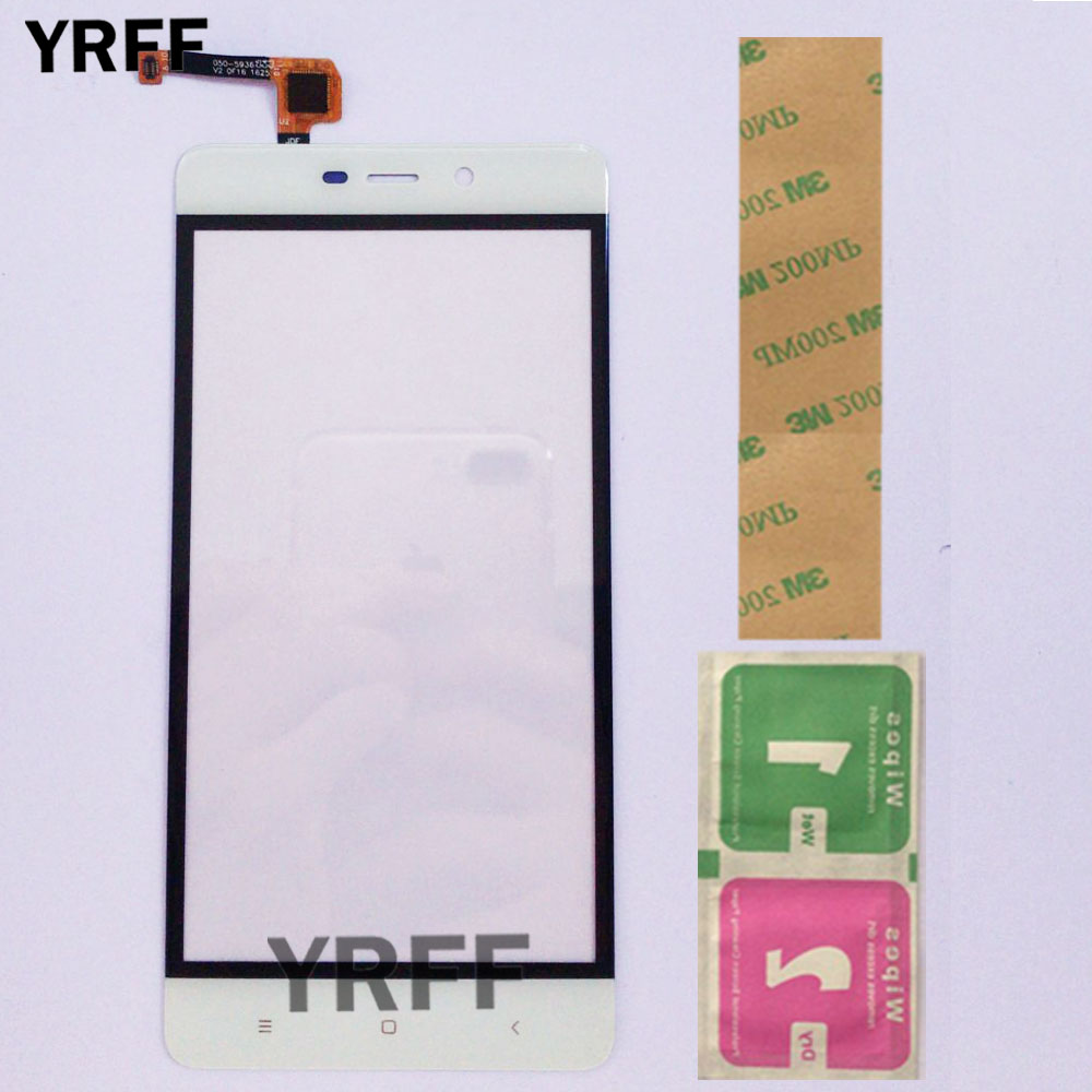 Touch Screen Panel For <font><b>Xiaomi</b></font> <font><b>Redmi</b></font> <font><b>4</b></font> <font><b>Pro</b></font> 4Pro <font><b>Touchscreen</b></font> Touchpad Touch Panel Sensor Digitizer Front Outer Lens Glass 3M Glue image