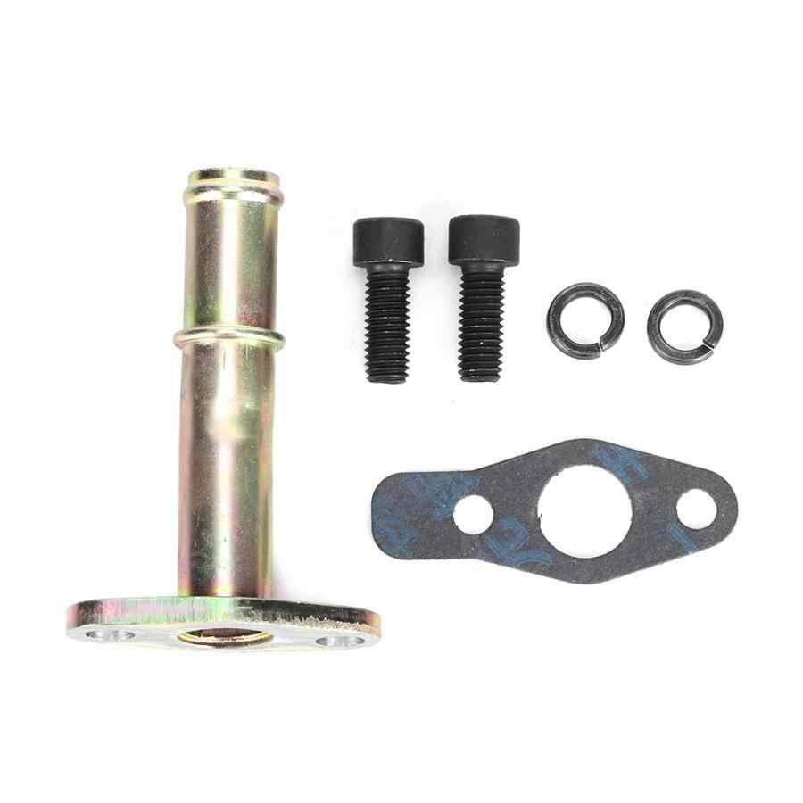 Aleación de Aluminio extendido 12AN 51mm Brida De Drenaje De Aceite O Anillo Para Turbocompresor T3//T4