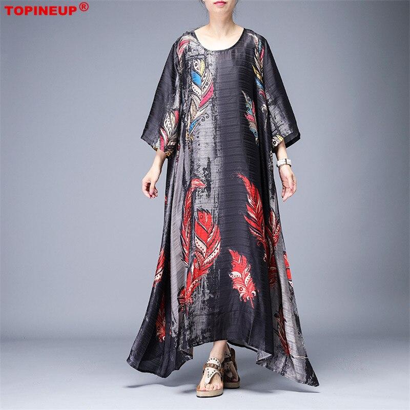 Robe longue en soie de caftan Farasha de dubaï pour femme longue robe de luxe élégante à imprimé floral mode robe en soie vêtements de fête robe de vacances