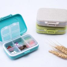 1pc Portable Mini Medicines Box Removable 6 Slots Boxes Pills Small Boxes Travel Pill Case