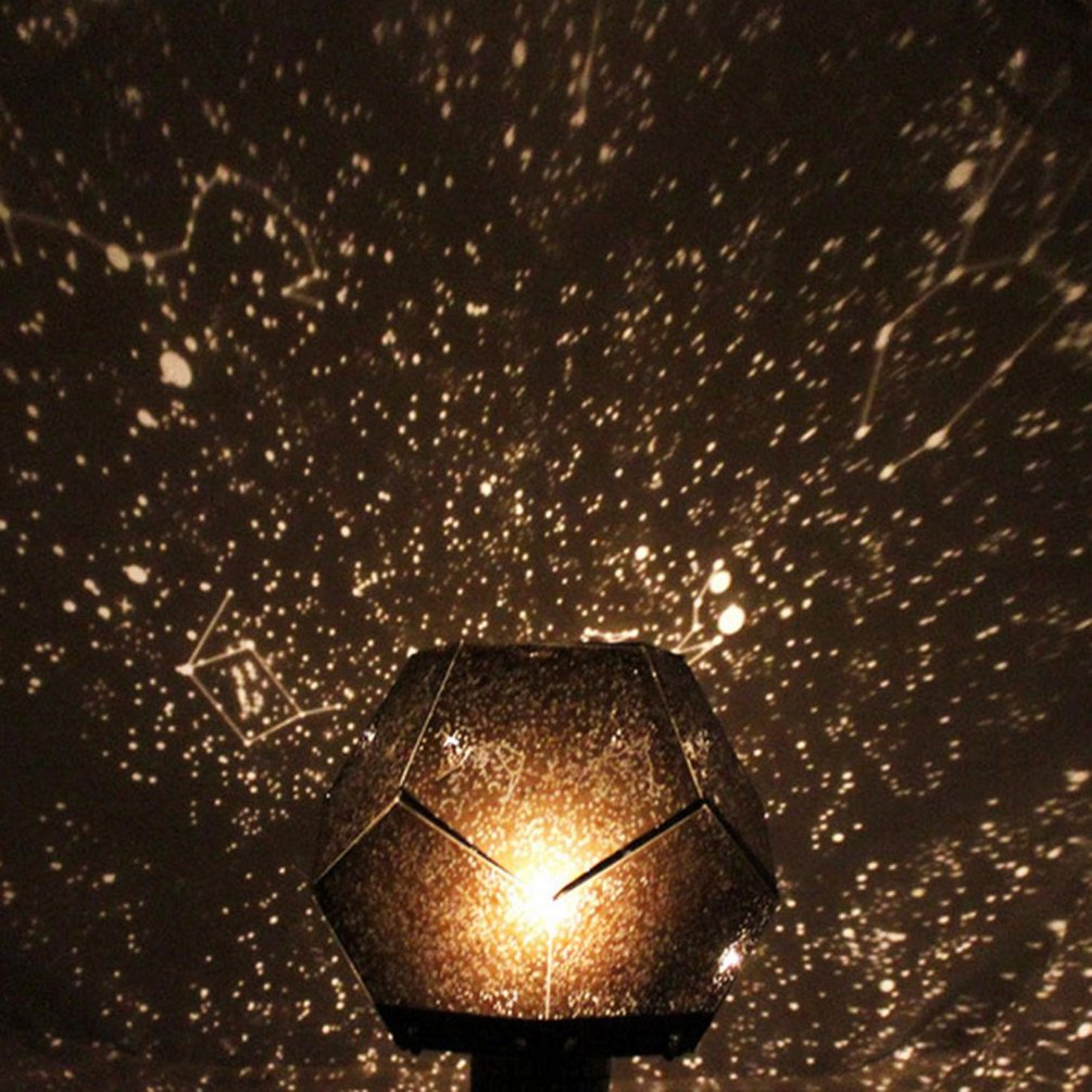 Starry Sky Projector Light Cosmos Four Seasons Constellation Stars Projection Lamp Romantic Night Lamp
