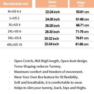 Image 2 - Frauen Abnehmen Full Body Shaper Korrigierende Unterwäsche Shapewear Bauch steuer Höschen Unterbrust Taille Korsetts Bodysuit Hüftgürtel