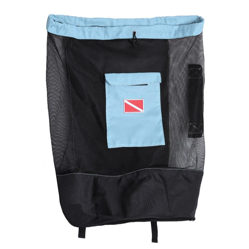 Mergulho mergulho snorkeling malha mochila engrenagem de