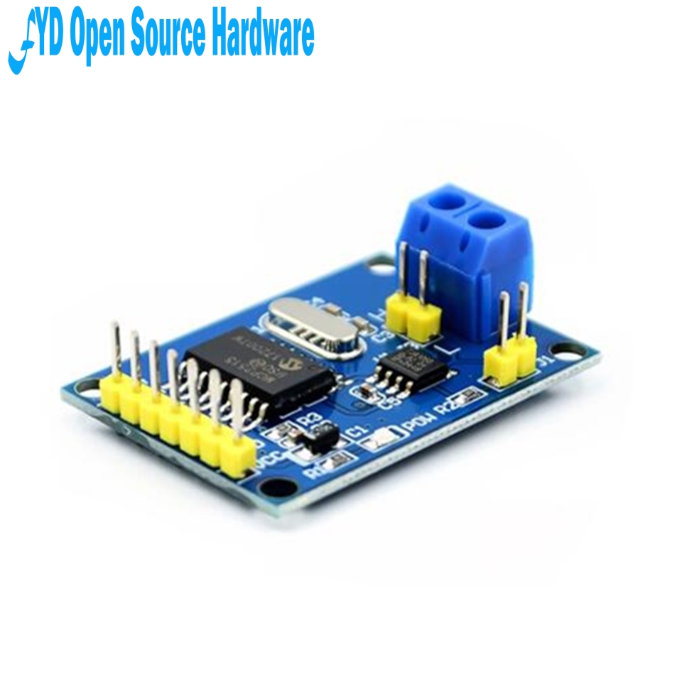1pcs MCP2515 CAN Bus Module TJA1050 Receiver SPI For 51 Arduino Diy Kit MCU ARM Controller