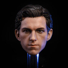 In Stock 1/6 Scale Male Figure Spiderman Peter Parker Head Sculpt for 12inch Action Figure DIY 1 6 scale toy head sculpt donnie yen yip man 3 fit 12 hottoy figure toys in stock