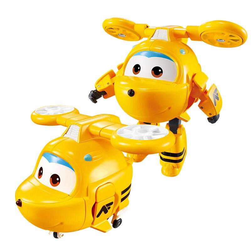 Большой! 15 см ABS Супер Крылья деформация самолет робот фигурки Супер крыло Трансформация игрушки для детей подарок Brinquedos - Цвет: No Box Neo
