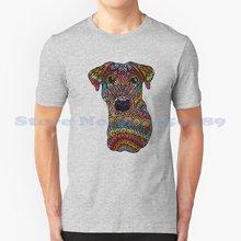 T-shirt arc-en-ciel Vintage à la mode Roxy pour chien, Doodles, chien, chien, Perro, Mutt, Doberman, Zentangle
