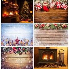 Виниловый Рождественский фон shengyongbao для фотосъемки реквизит