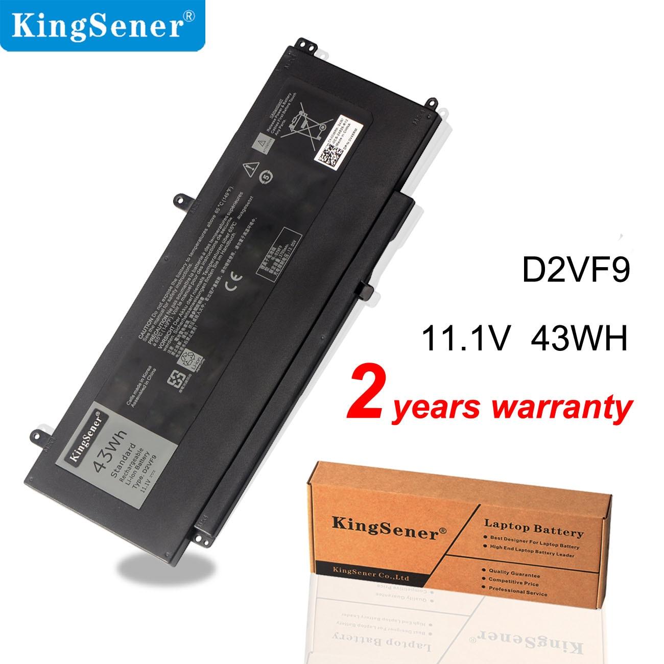 KingSener D2VF9 Laptop Battery For Dell Inspiron 15 7547 7548  For Vostro 14 5000 5459 0PXR51 0YGR2V P41F P68G 4P8PH PXR51 43WH