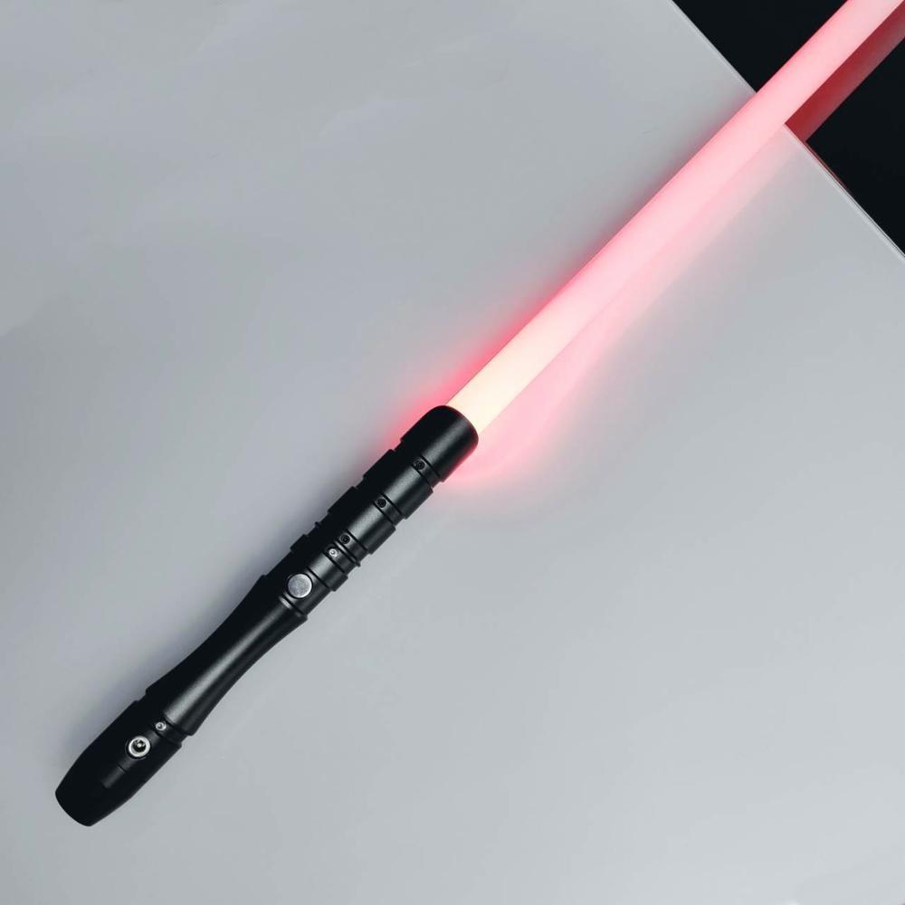 LGTOY vente chaude sabre laser RGB poignée en métal épée changement de couleur Jedi Sith Luke sabre lumineux Force FX duel lourd