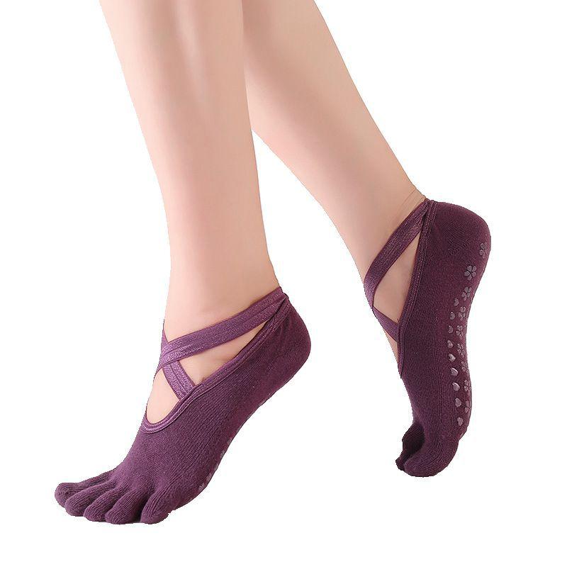 Women High Quality Yoga Socks Anti-Slip Dance Dot Socks Quick-Dry Pilates Ballet Socks Good Grip For Women Cotton Socks