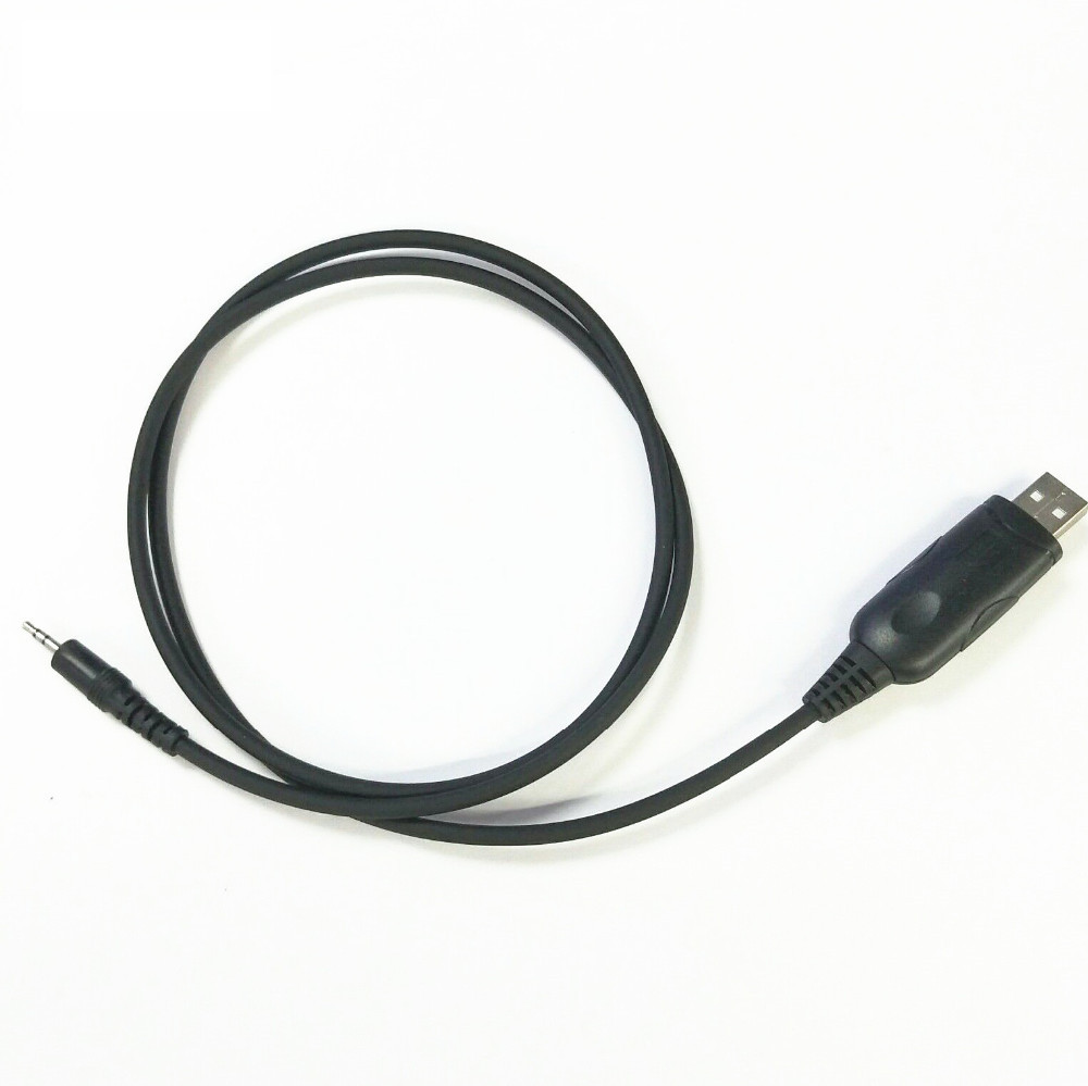 1 Pin 2.5mm USB Programming Cable For MOTOROLA GP88S GP3688 GP2000 CP200 P040 EP450 GP3188 Radio Walkie Talkie